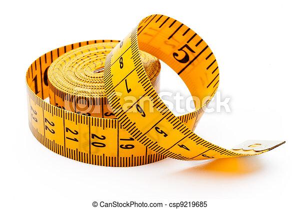 Yellow tailor meter - csp9219685