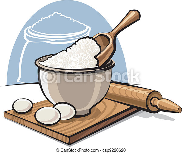 Clip Art Flour Clipart flour stock illustrations 9742 clip art images and royalty in bowl with eggs