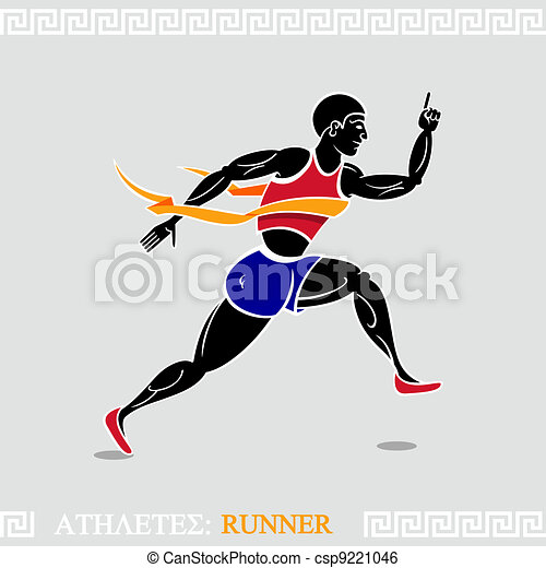 Ancient olympic games Clip Art Vector and Illustration. 100 ...