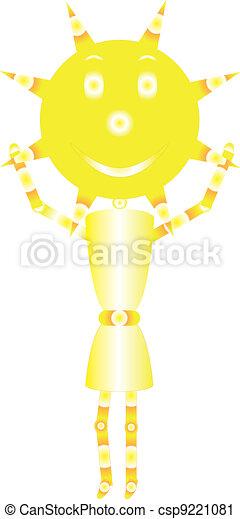 sunshine girl - csp9221081