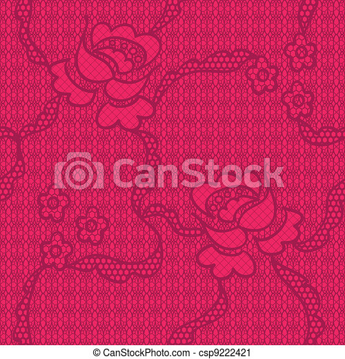 Flowers Seamless Pattern - csp9222421