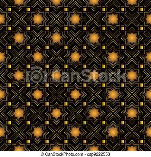 Islamic seamless pattern - csp9222553