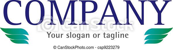 A Trade company logotype - csp9223279
