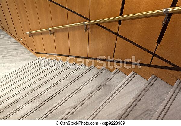 Internal stairs decor - csp9223309