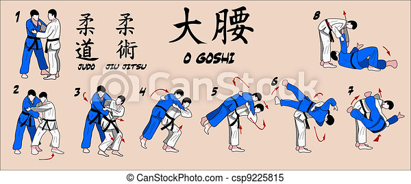 Judo technique - csp9225815