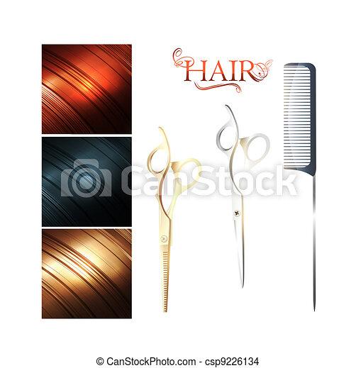 Hair - csp9226134