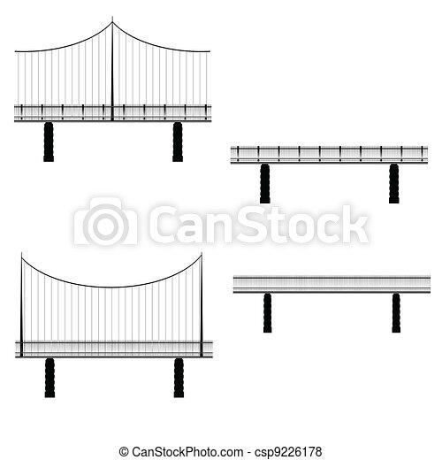 bridge vector illustration - csp9226178