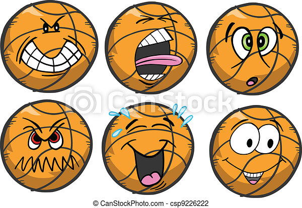 Basketball emotion Sports Icons - csp9226222