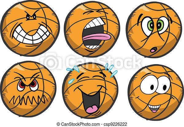 Basketball emotion Sports Icons - csp9226222
