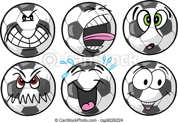 Soccer emotion Sports Icons - csp9226224