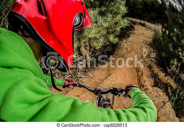 MTB downhill - csp9226513