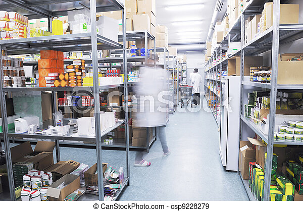 medical factory  supplies storage indoor - csp9228279