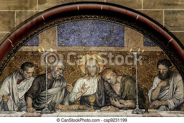 Last Supper of Christ - csp9231199
