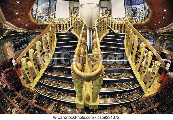 Photo de croisi re bateau int rieur conception for Bateau de luxe interieur