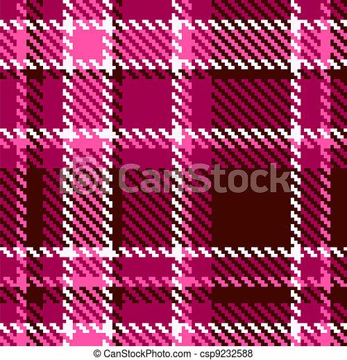 vektor von seamless rotes rosa checkered vektor stoff muster csp9232588 suchen sie nach. Black Bedroom Furniture Sets. Home Design Ideas