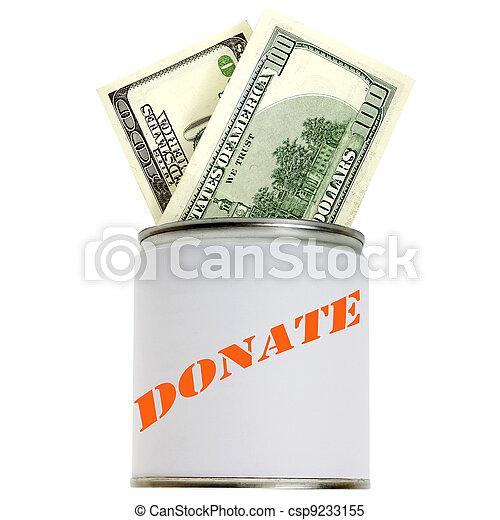 donation box - csp9233155