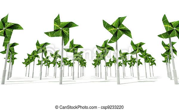 Windmill Wind Energy Farm - csp9233220