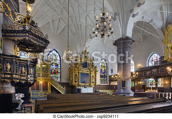 German church, Stockholm - csp9234111