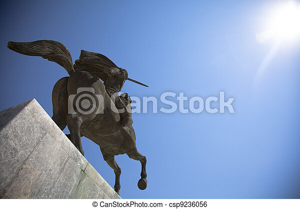 Statue of Alexander the Great - csp9236056