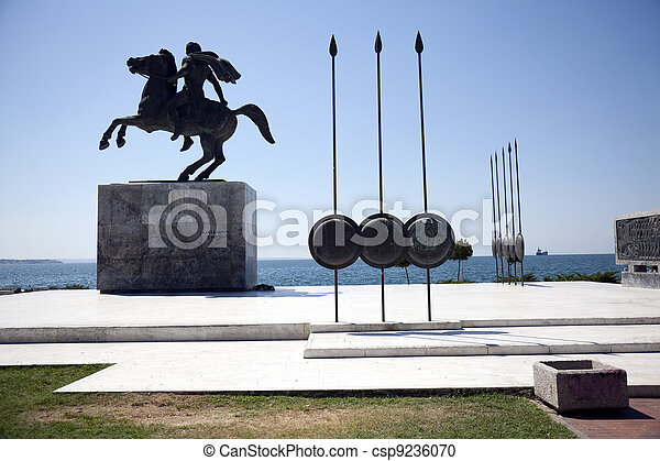 Statue of Alexander the Great - csp9236070