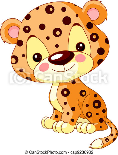 Fun zoo. Jaguar - csp9236932