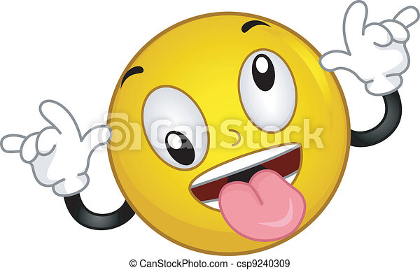 Goofy Smiley - csp9240309