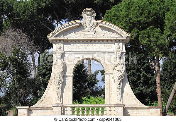 Palatine Portal - csp9241863