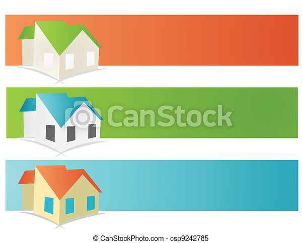 house vector illustration - csp9242785