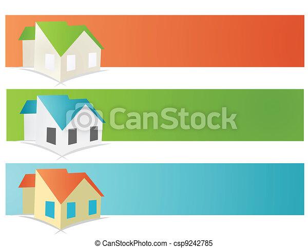 house vector illustration - csp9242785