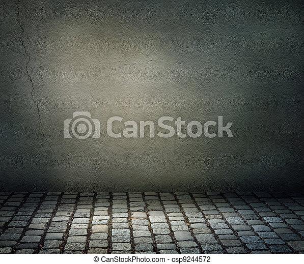 sombre, fond - csp9244572