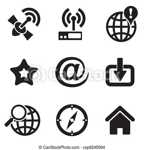 computer web icons - csp9245064