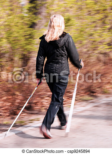 Nordic walking - csp9245894