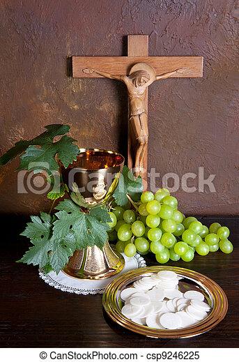 Holy communion - csp9246225