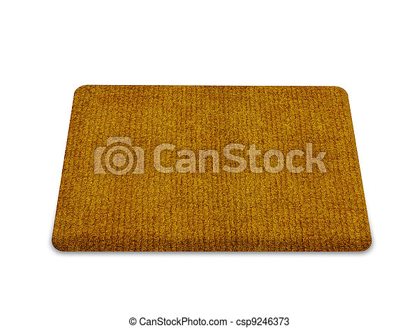 welcome doormat - csp9246373