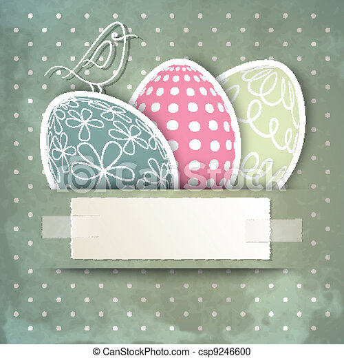Happy Easter - csp9246600