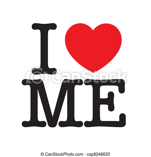 I Love Me - csp9246630
