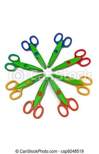 Scrapbooking Scissors - csp9248519