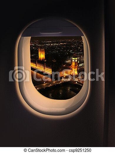 Approaching destination London - csp9251250