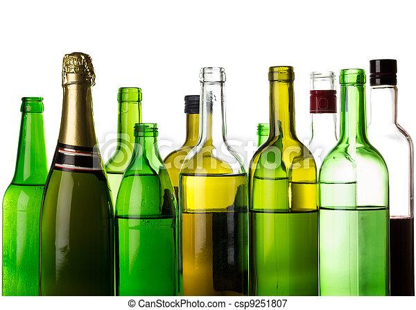 bilder von verschieden alkohol getr nke flaschen. Black Bedroom Furniture Sets. Home Design Ideas