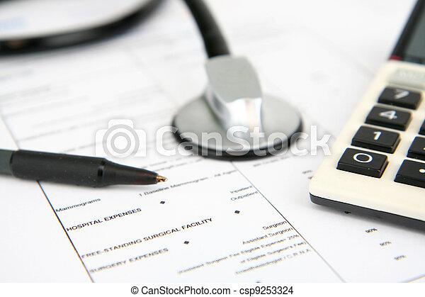Medical Insurance - csp9253324