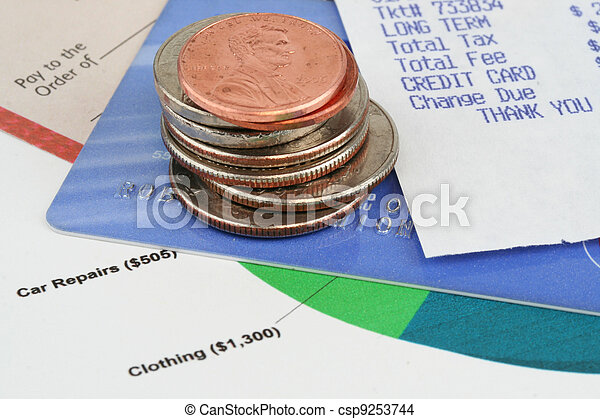 Finances - csp9253744