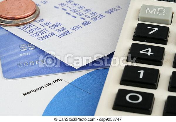 Finances - csp9253747