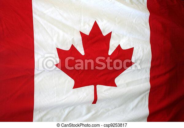 Flag of Canada - csp9253817