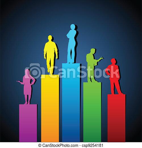 Growing Organisation - csp9254181