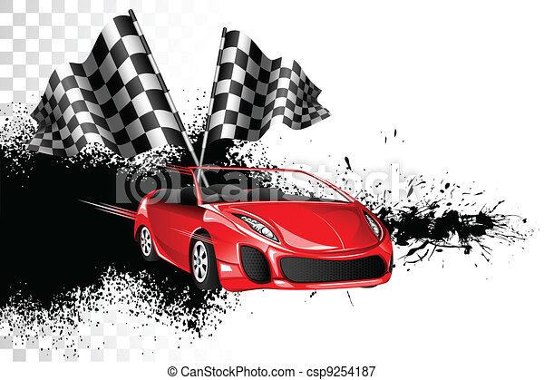 Car Race - csp9254187