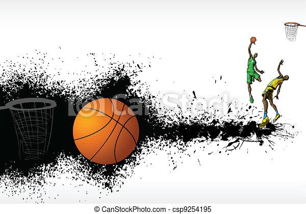 Basketball Match - csp9254195