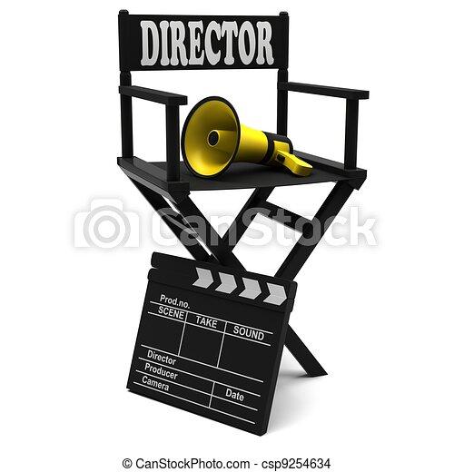 Chair director - csp9254634