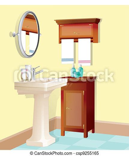 Bathroom - csp9255165