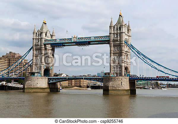 tower bridge in london - csp9255746