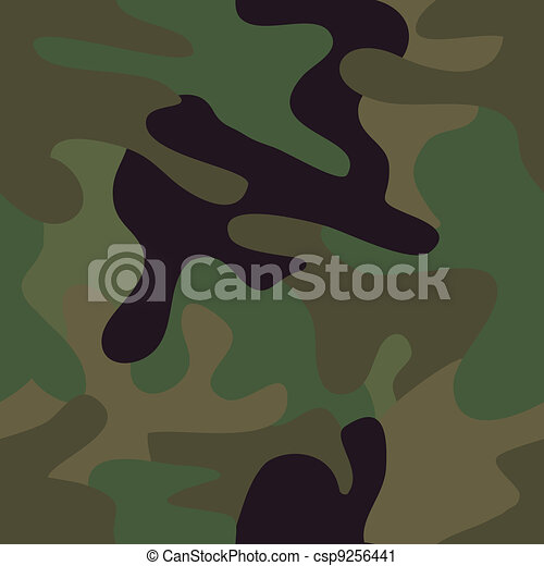 seamless camouflage - csp9256441